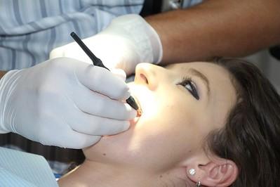 Przyszła mama u dentysty