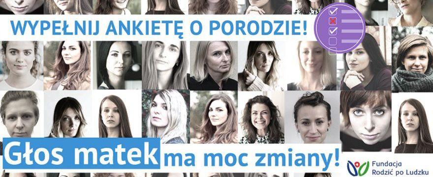 """Kobiety w Polsce wypełniają ankietę: """"Głos matek ma moc zmiany"""""""