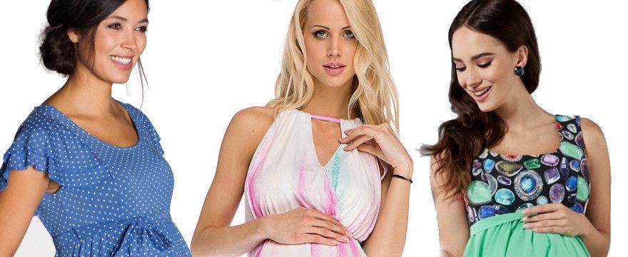 Zwiewne i wygodne sukienki ciążowe na lato!