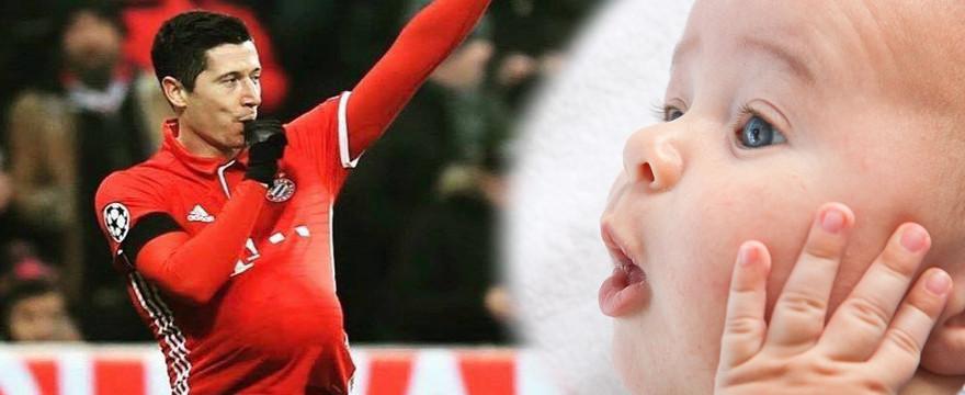 Lewandowski : dziecko w drodze!
